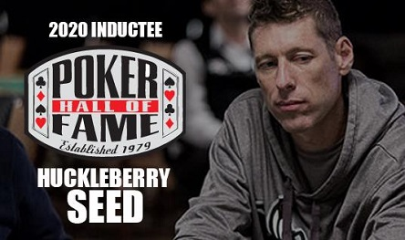1996 WSOP Main Event Champion Huck Seed inducted into Poker Hall of Fame