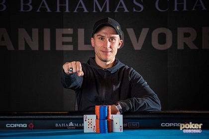 Daniel Dvoress wins 2019 Super High Roller Bowl Bahamas