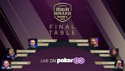 Negreanu, Koon at SHRB Final Table