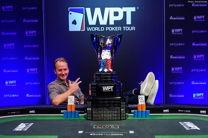 Simon Brandstrom wins 2019 WPT UK Main Event for $330K