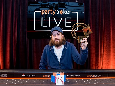 Steve O'Dwyer wins partypoker LIVE MILLIONS UK £25,000 Super High Roller