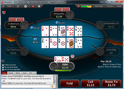 PokerStars introduces Split Hold'em