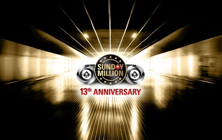 PokerStars 13th Anniversary of the Sunday Million has $10 million guarantee