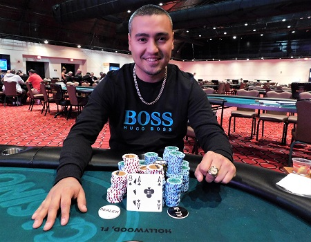 Steven Sarmiento wins first ring at WSOP Circuit Coconut Creek