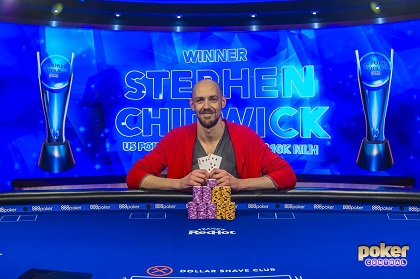 Stephen Chidwick ships first USPO event for $216K