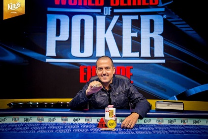 WSOPE: Tamir Segal wins first bracelet in Event #1 €550 NL Colossus