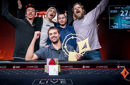 Taylor Black wins partypoker LIVE MILLIONS North America for $1.4M