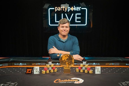 Roger Teska wins partypoker Caribbean Poker Party MILLIONS World for $2 million