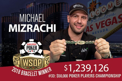 2018 WSOP: The Grinder wins $50K PPC