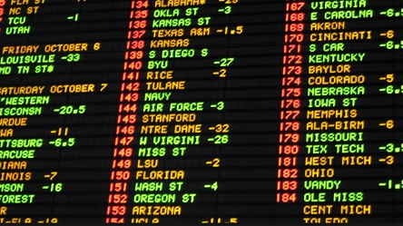 Sports betting revenue up 65% in Nevada, but Las Vegas still not back to normal