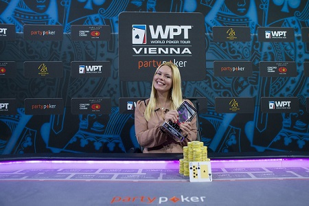 Jamila Von Perger wins partypoker WPT National Vienna