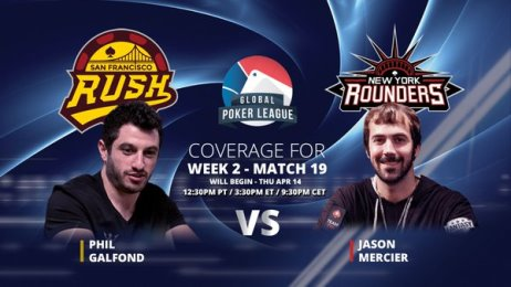 GPL Week 2: Americas Conference Heads-Up matches