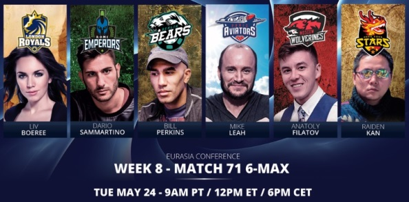 GPL Week 8: 6-Max Matches