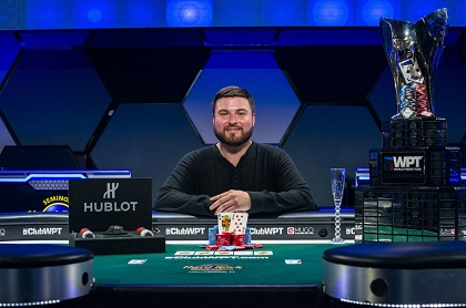 James Carroll wins WPT Seminole Hard Rock Poker Showdown