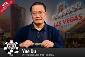WSOP: Yue Du wins first-ever bracelet for China and Doug Polk/Ryan Fee win Tag Team bracelet
