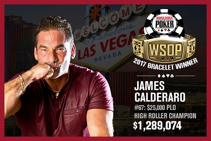 WSOP James PLO 25K