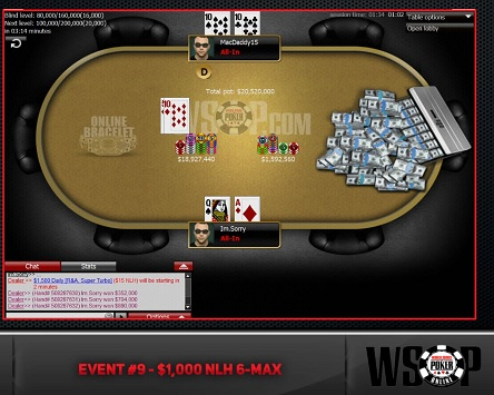 2020 WSOP Online: Ron 'MacDaddy15' McMillen and Ryan 'Im.sorry' Torgerson New bracelet winners