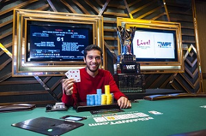 WPT Maryland Live: Medical student Zachary Smiley wins WPT title and $356K