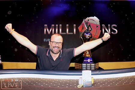 Lucas Zaskodny wins partypoker LIVE EUROPE Main Event